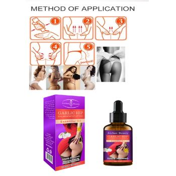 Hip Enhancement Lifting Essential Massage Oil