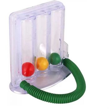 Respiratory Lung Exerciser With Three Ball Spiro M