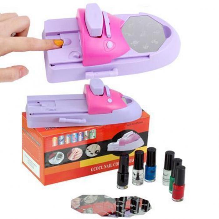 Nail Art Stamping Machine In Pakistan ! Hitshop.pk