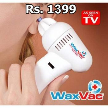 WaxVac Ear Cleaner Remove Ear Wax Smoothly