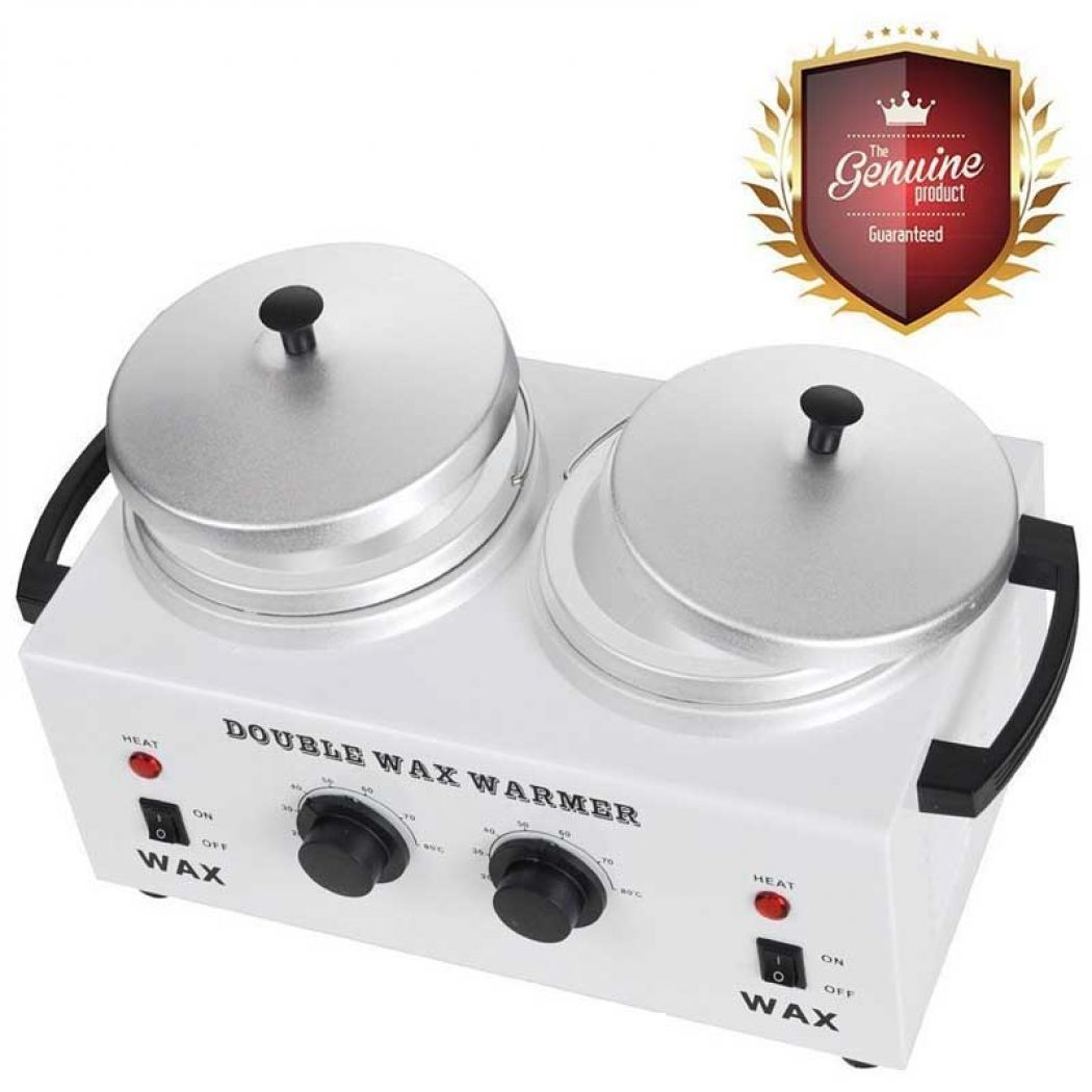 Deluxe Professional Double Hair Wax Warmer Machine