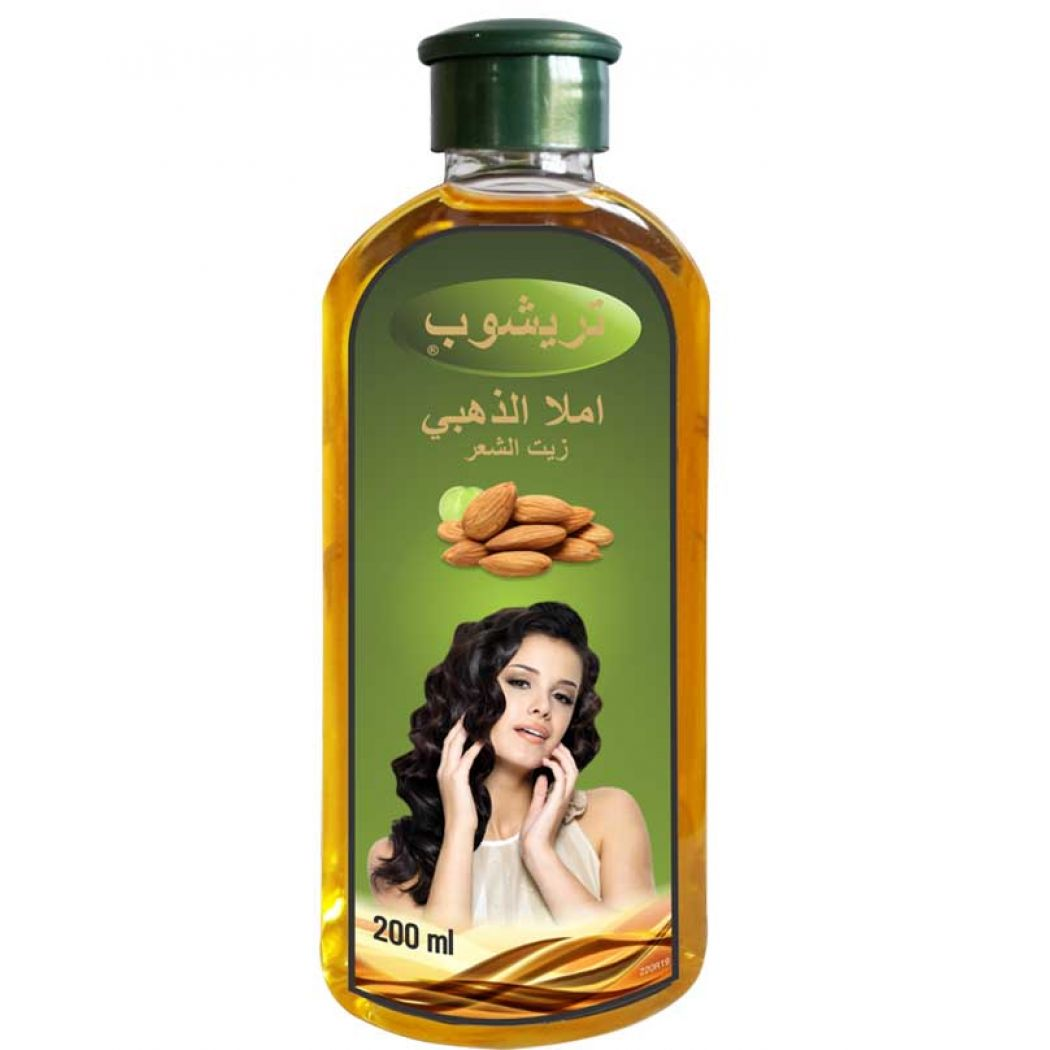 Trichup Amla Gold Indian Hair Oil 200ml