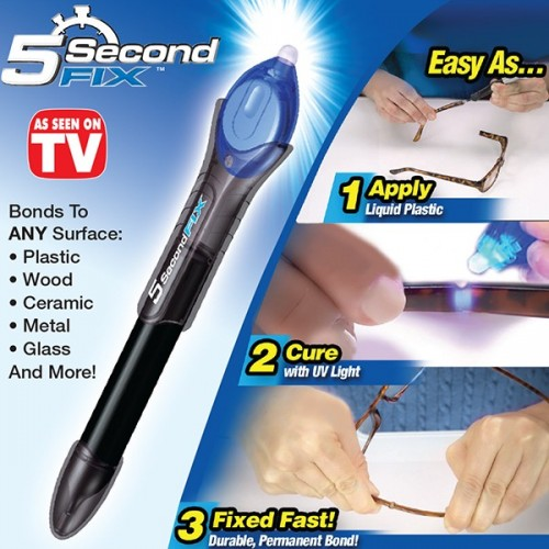 5 Second Fix Liquid - Plastic Welding Tool