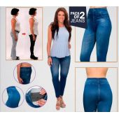 Slim N Lift Caresse Jeans - Pack Of 2