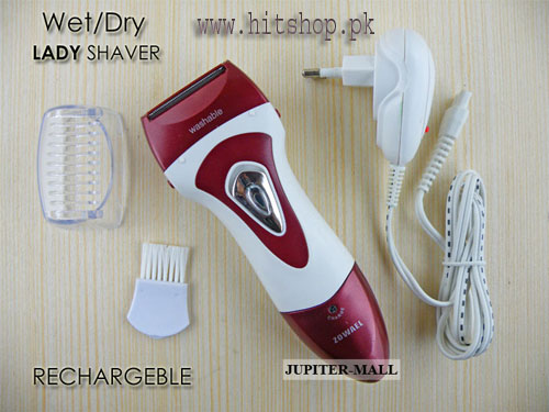 Zowael RSCW-298 Rechargeable Wet/Dry Lady Shaver