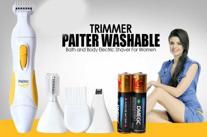 Latest Paiter 3in1 Electric Lady Shaver PLS-01