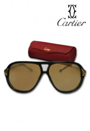 CARTIER AVIATOR SUNGLASSES (BOX & POUCH)