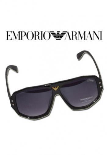 GIORGIO ARMANI SQUARE AVIATOR SUNGLASSES (BOX & PO