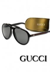 GUCCI AVIATOR SUNGLASSES (BOX & POUCH)