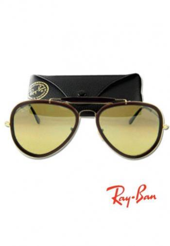 RAYBAN ROAD SPIRIT GOLD FRAME/BROWN LENS SUNGLASSE