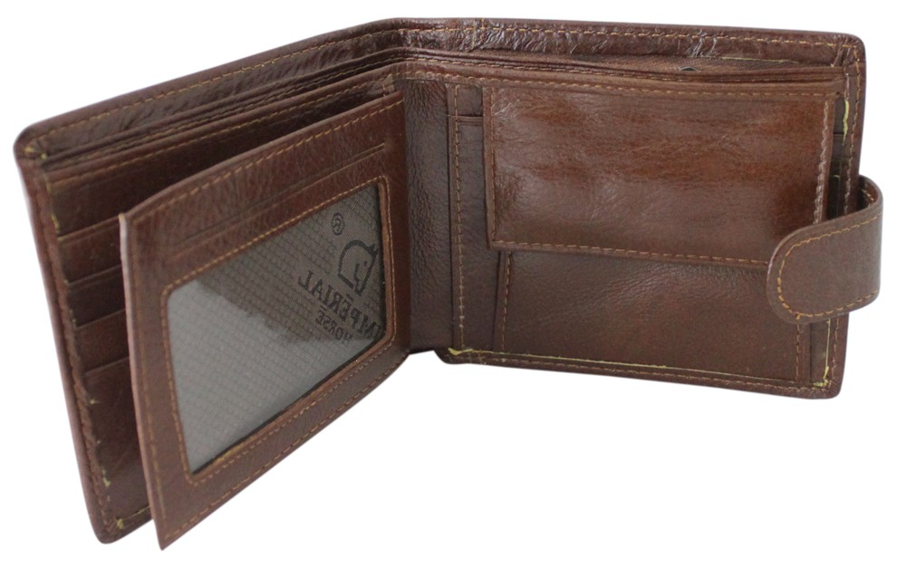 Imperial Horse Light Brown Wallet