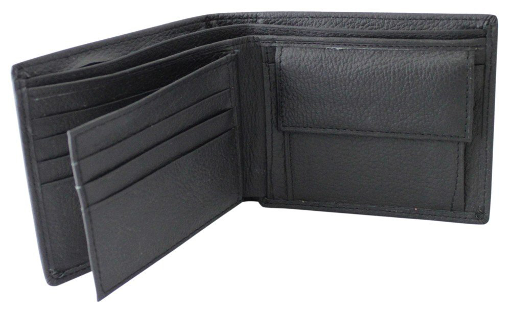Imperial Horse Mesh Black Wallet