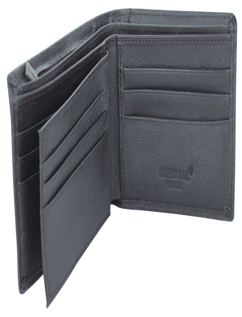 New Imperial Horse Black Wallet