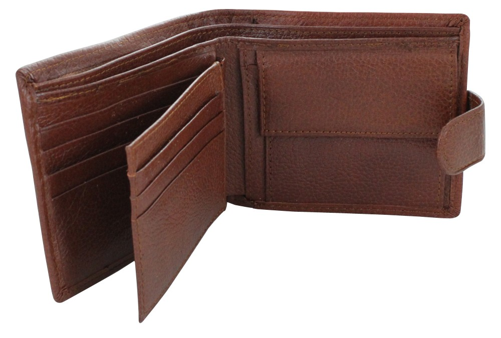 New Imperial Horse Rust Brown Wallet