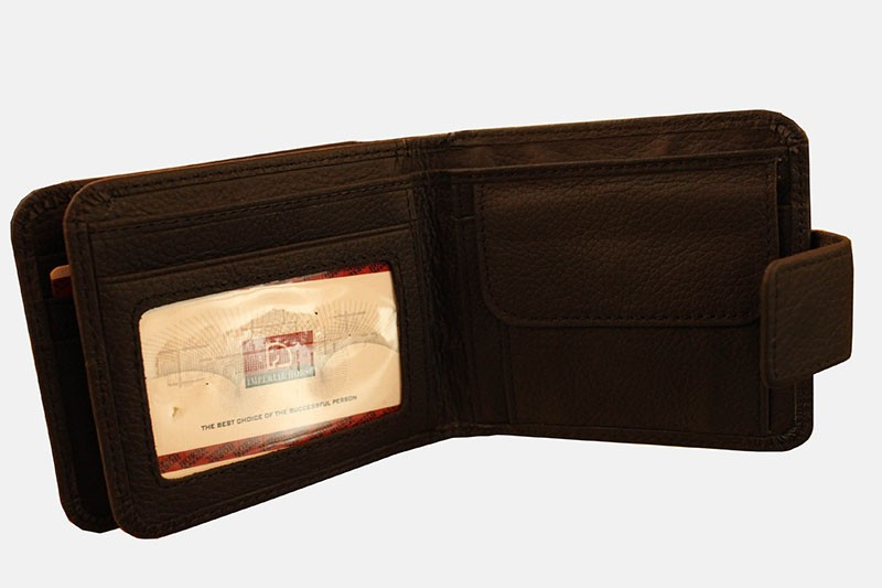 Imperial Horse Dark Brown Wallet