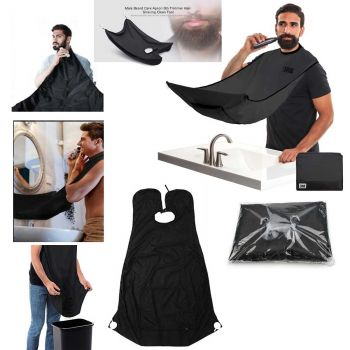 Beard Care Shave Bib Hair Trimmer Men Bathroom Gow