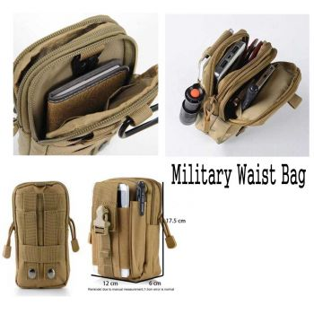 Pilot Army Fans Tactical Multifunction Waist Bags