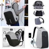 Laptop Bagpack with USB Charging Port Waterproof S
