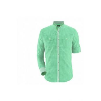 Envogue Apparel Green Mini Checkered Casual Shirt