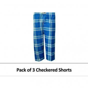 PACK OF 3 SHORTS FOR MEN