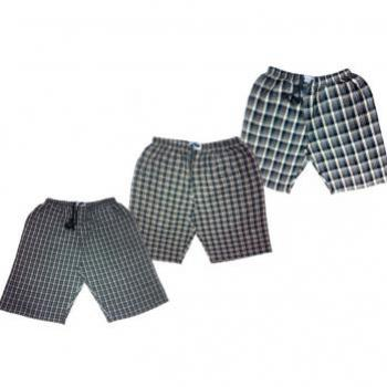 PACK OF THREE EXPORT QUALITY CHECKERED SHORTS