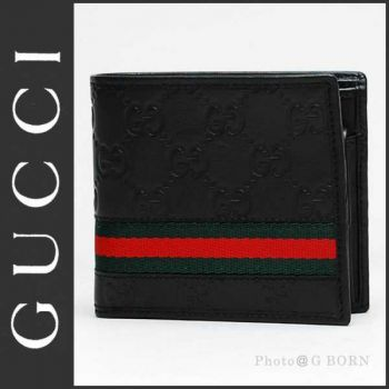 Gucci Brand Leather Wallet For Mens