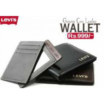Levis Wallet For Men Cow Leather