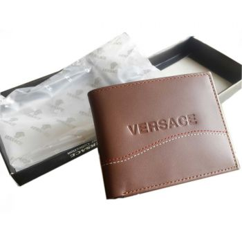 New Mens Versace 2015 Leather Wallet