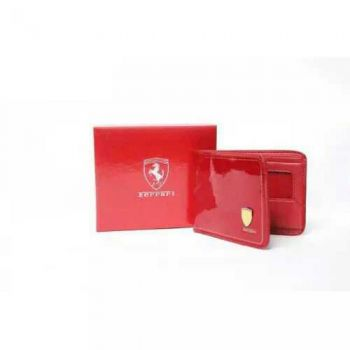 Red Ferrari Wallet