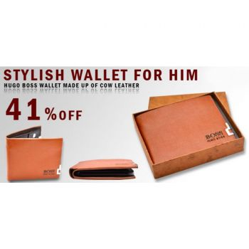 Stylish Wallet For Him Hugo Boss Wallet Made Up Of