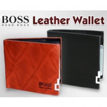HUGO BOSS LEATHER WALLET