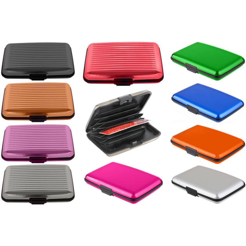 pack of 3 Aluma Silicon Plastic wallet