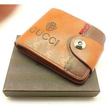 BRANDED GUCCI LEATHER WALLET