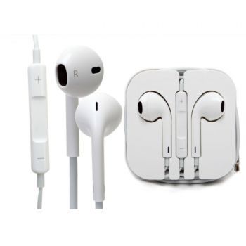 Heavy Duty iPhone Handsfree - White