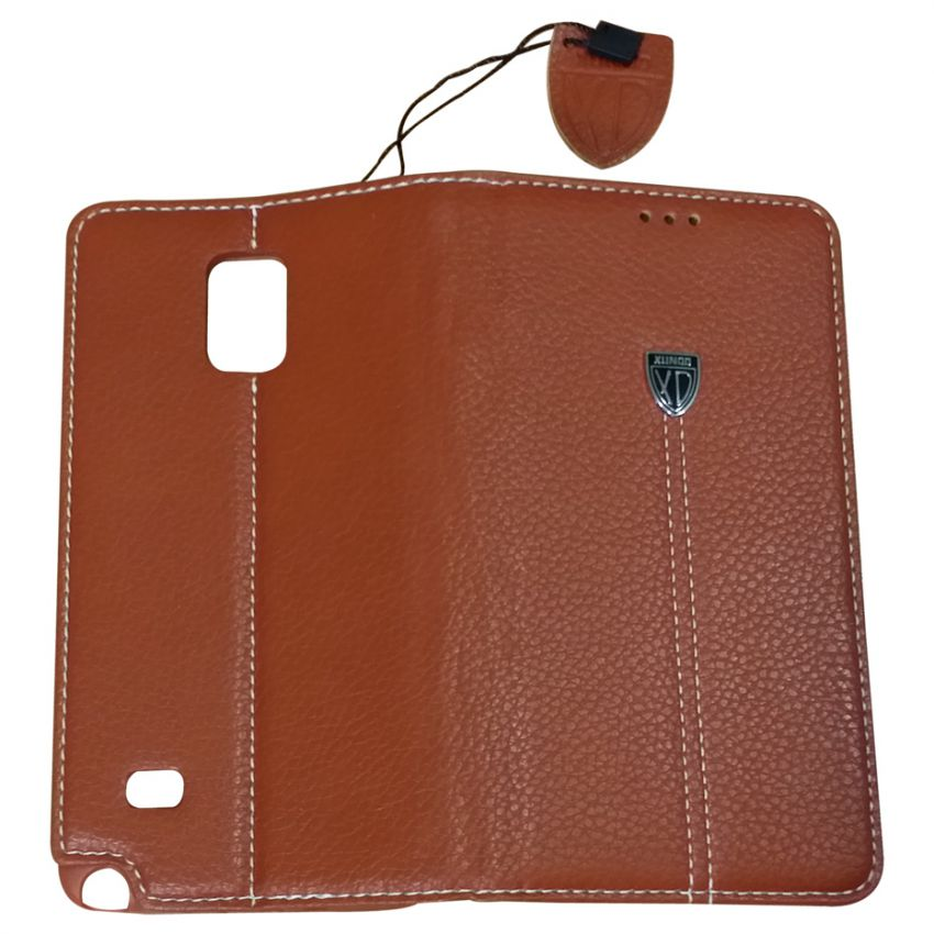 Noble Series Galaxy Note 4 Leather Case Brown