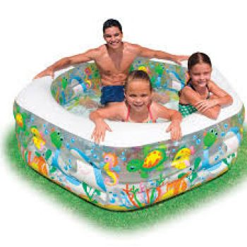 INTEX 56493 Ocean World Inflatable Children Pool
