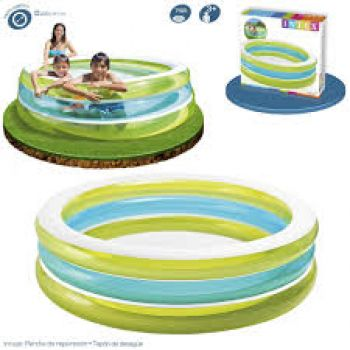 Intex 57489EP Swim Center See-Through Round Pool