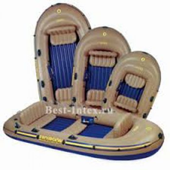 Intex Excursion 3 Inflatable Raft Set