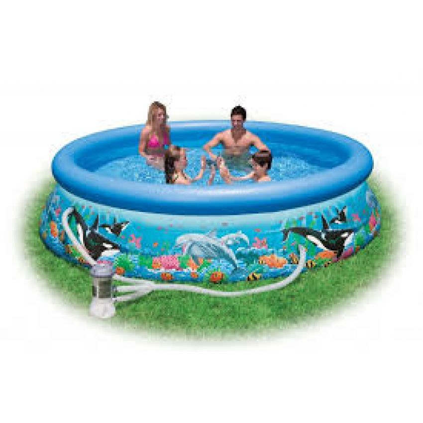 New intex easy set pool in pakistan hitshop for Easy care pool products