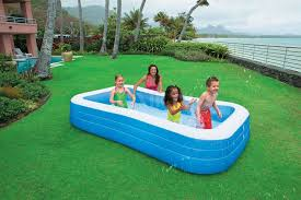 INTEX 58484 Inflatable Family Pool