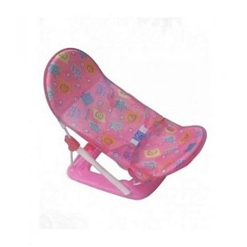 Baby Bath Seat Foldable - Pink
