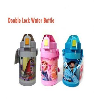 New Double Lock Water Bottle For Kids