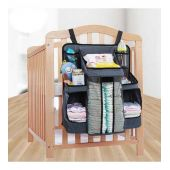 Hanging Nursery Organizer And Baby Diaper Caddy
