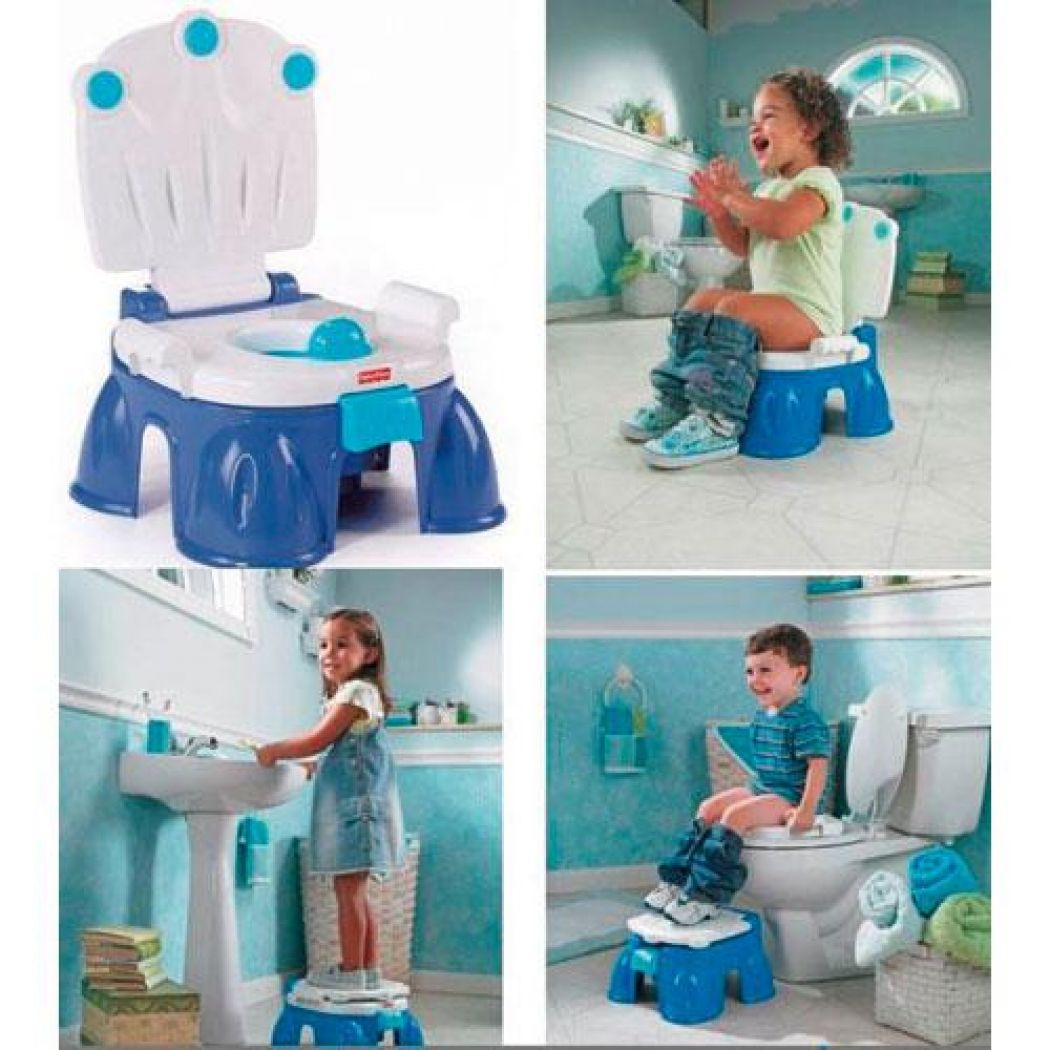 Fisher Price Royal Step Stool Potty Chair