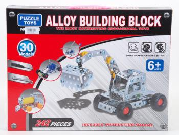 Alloy Building Blocks 242 Pieces - Puzzle Toy