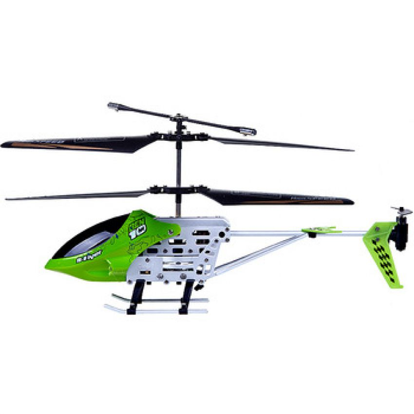 Metal 3Ch Rc Helicopter Ben 10 Htx 085 25Cm With R