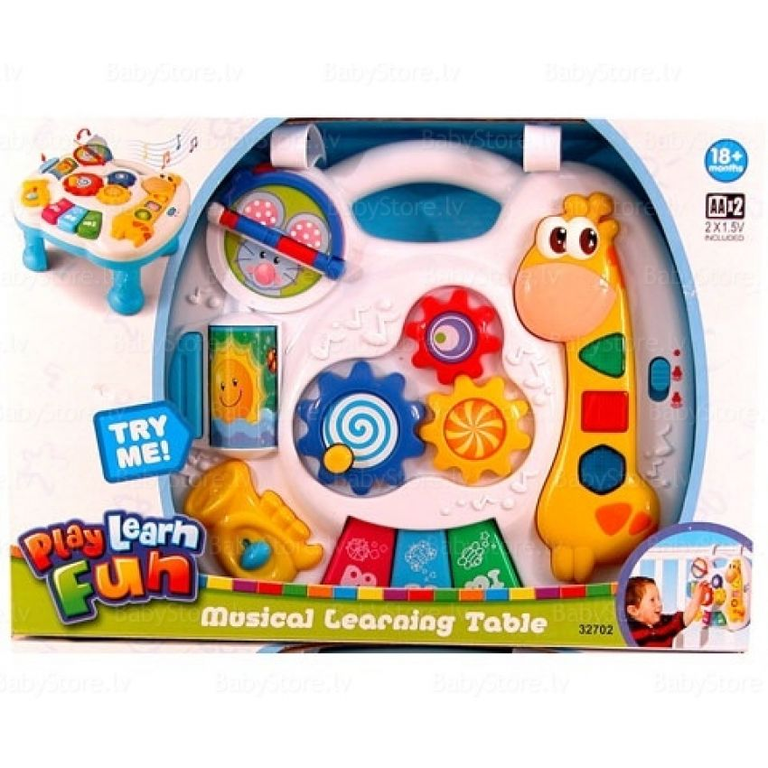 Musical Learning Toys : Musical learning table in pakistan hitshop