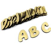 Wooden ABC complete Set of Letters for Kids Learni