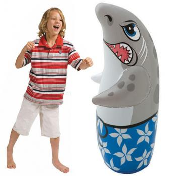 INTEX Dolphin Inflatable Bop Bag Toy