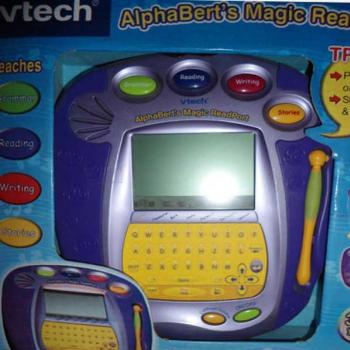 V-tech Magic Alphabets Book